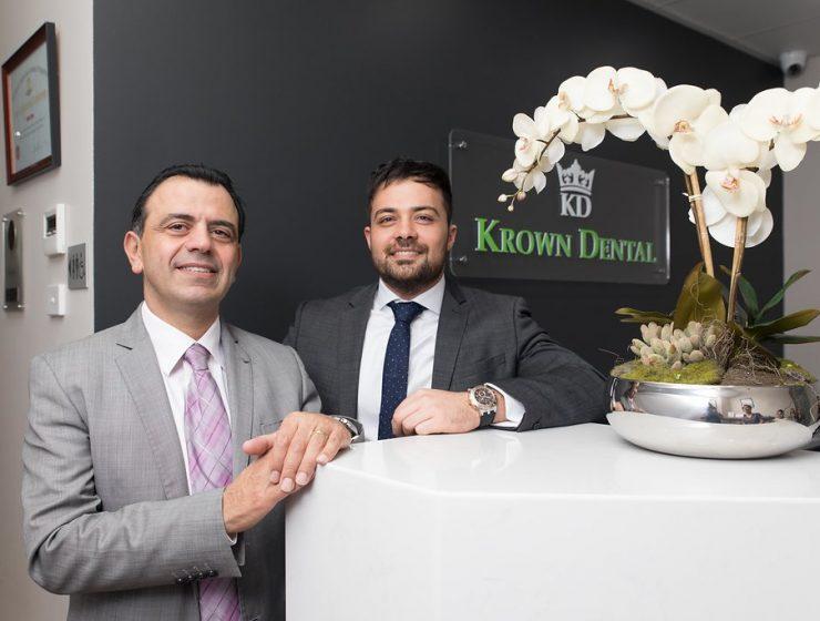 Dr Joseph Hajj and Dr Imad Eltenn