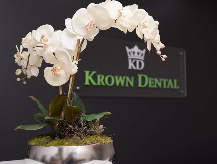 Krown Dental flower