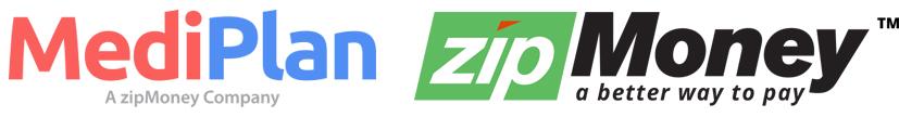 MediPlan zipMoney logo